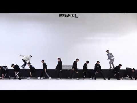 BTS 2019 MMA DIONYSUS DANCE PRACTICE MIRRORED
