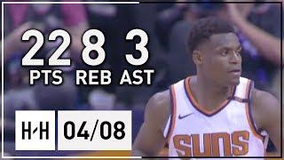 Danuel House Jr Full Highlights Warriors vs Suns (2018.04.08) - 22 Pts, 8 Reb, 3 Assits!