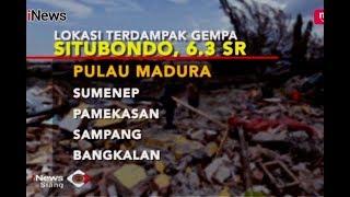 Berikut Wilayah yang Paling Parah Terdampak Gempa 6,3 SR Situbondo - iNews Siang 11/10