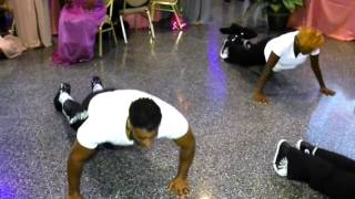 Best Michael Jackson Wedding Dance Tribute (Jeff and Ariel Morton)