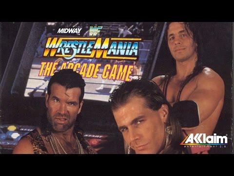 Jogo WWF WrestleMania: The Arcade Game - Mega Drive