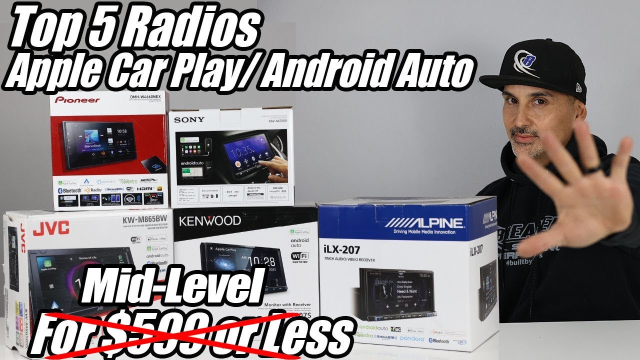 Download The 5 Best Car Stereo Head units/ Radios with Apple Car Play & Android Auto for under $599