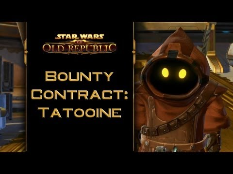 SWTOR: Bounty Contract Tatooine [incl. kill & capture ending]