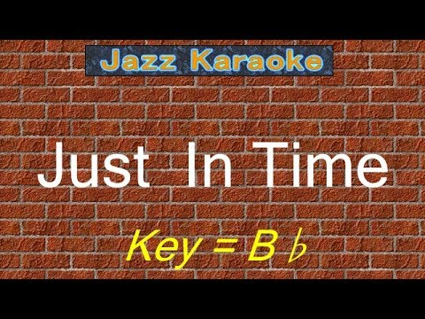 "JazzKara  ""Just In Time"" (Key=Bb)"