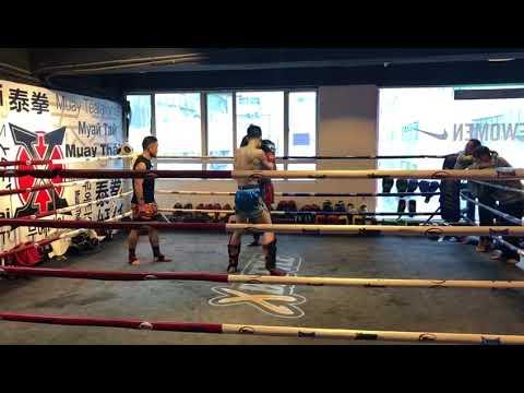 2018 xbattle inhouse fight - Frankie vs Ian Round 3