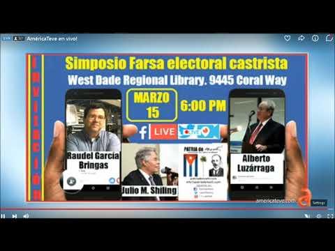 Simposio Farsa Electoral Castrista
