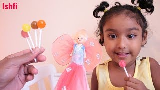 Lolli Pop Finger Family Song with Real Toddler | Ishfi