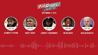 SPEAK FOR YOURSELF Audio Podcast (9.02.19) with Marcellus Wiley, Jason Whitlock | SPEAK FOR YOURSELF
