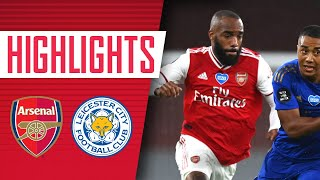 HIGHLIGHTS Arsenal 1 1 Leicester City Premier League