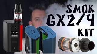 gX 2/4 kit by SMOK  Детальный обзор монстра на 350 ватт