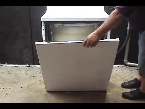Taking GE washer apart  YouTube