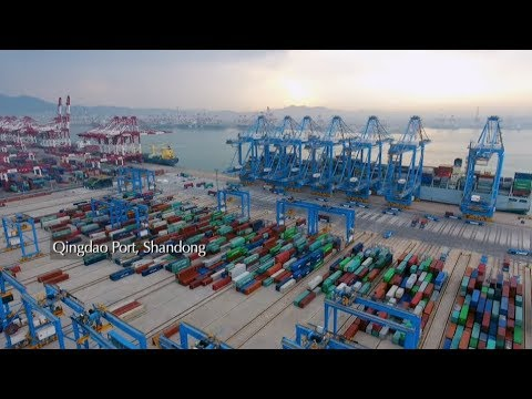 Amazing China: Qingdao Port Mirrors China's Opening-up Policy