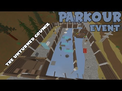 Insane Parkour Event (The Unturned Council)