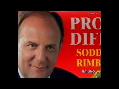 8/8/1999 - RaiUno - 3 Sequenze spot pubblicitari e promo e TG1 Notte