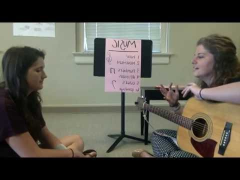 Taylor Brown - Children's Medical Center of Dallas - Music Therapy Internship Video
