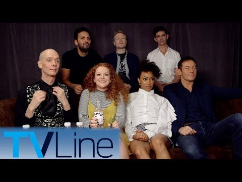 Star Trek: Discovery Cast  Interview | Comic-Con 2017 | TVLine