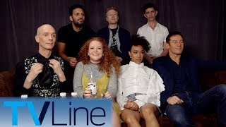 Star Trek: Discovery Cast  Interview | Comic-Con 2017 | TVLine