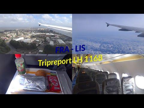 Tripreport Lufthansa A321 LH 1168 Frankfurt - Lissabon