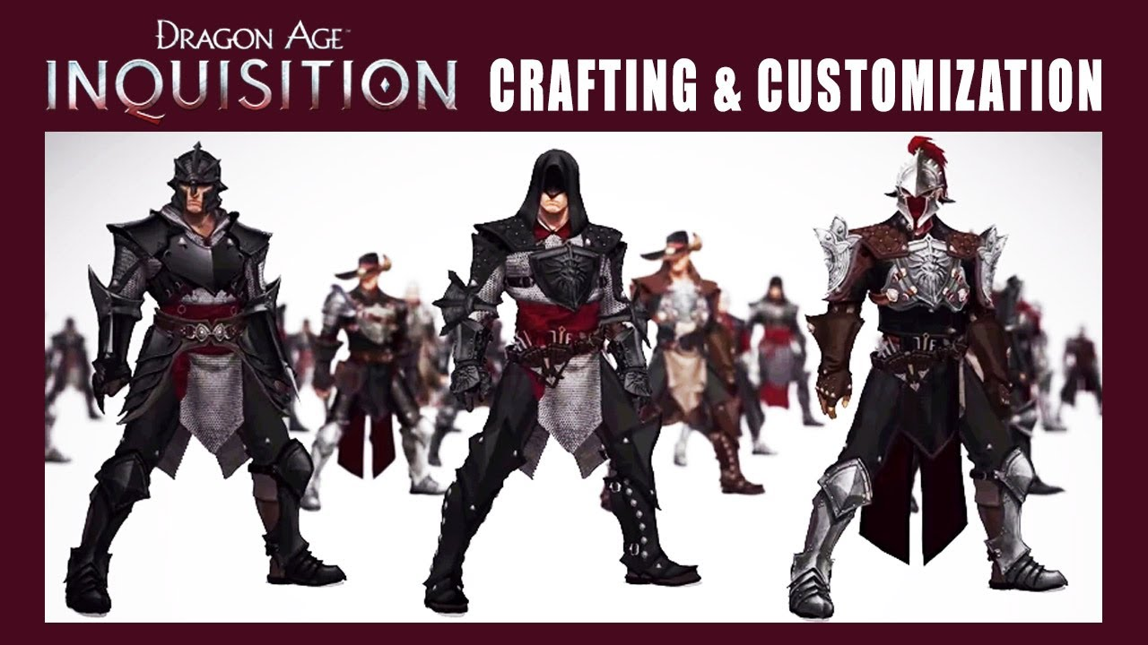 Best Armor Crafting Dragon Age Inquisition