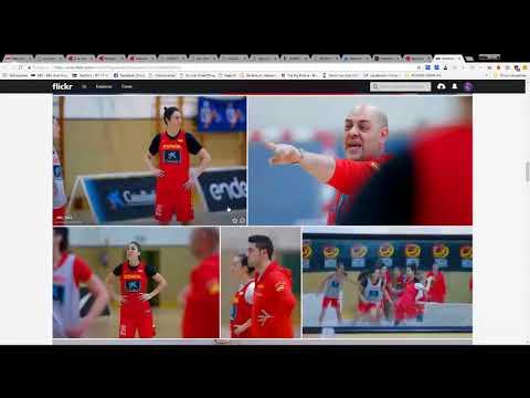 VENTANA FIBA   PRESELECCION PARTIDO VS MONTENEGRO Y ESLOVENIA