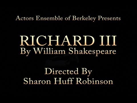 Richard III - Directed by Sharon Robinson