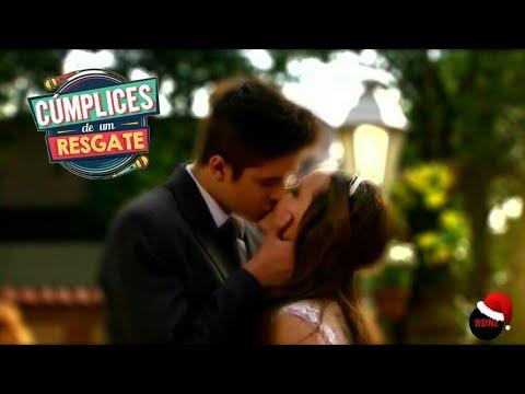 b8bfbea0e231b CÚMPLICES DE UM RESGATE - O primeiro beijo de Manuela e Joaquim ...