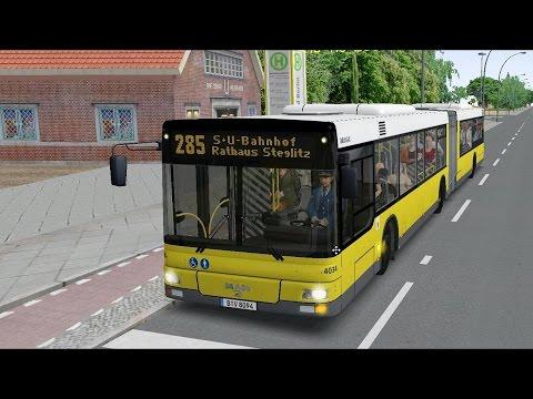 OMSI 2 - MAN Citybus A23 - Berlin X10 Line 285