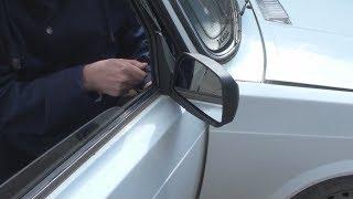 видео Зеркало заднего вида жигули. 12.25 Зеркало заднего вида с электроприводом