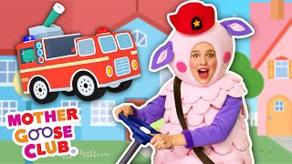 Fire Engine, Fire Engine with Baa Baa Sheep + More | Mother Goose Club Nursery Rhymes