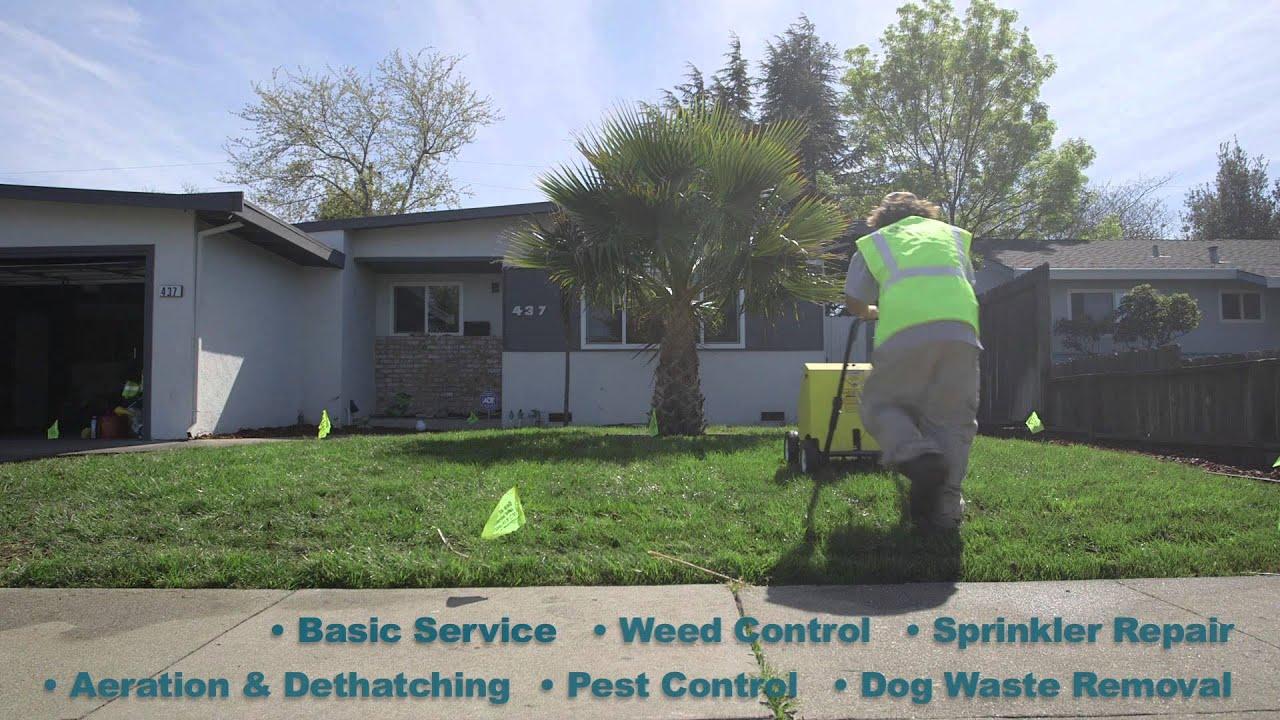 Commercial Landscape Maintenance Fairfield Ca Youtube