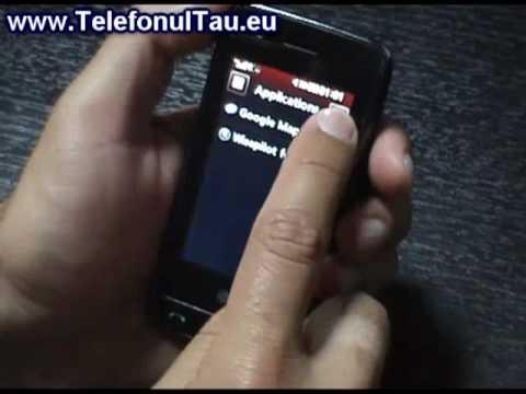 LG GT505 Review ( in Romana ) - www.TelefonulTau.eu -