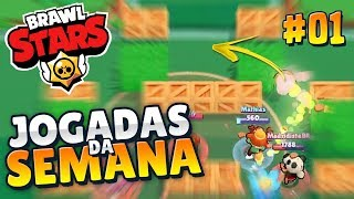 (PORTUGUESE) TOP 10 PLAYS OF THE WEEK #01 | BRAWL STARS