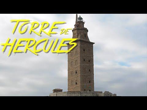 🇪🇸 TORRE DE HERCULES & FARO ROMANO - A CORUÑA - GALICIA - ESPAÑA #41 - 2017 - Turismo, Documental