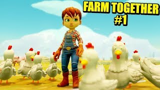 FARM TOGETHER #1 - EMPEZANDO MI PROPIA GRANJA | Gameplay Español