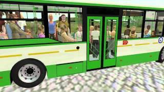 OMSI Voljanin test 8 (doors + full bus pass)