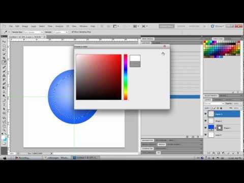how-to-make-volkswagen-logo-on-photoshop
