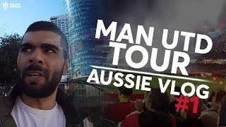 Man United Pre-Season Tour 2019 Vlog #1 | Man Utd 2-0 Perth Glory