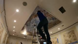 Ceiling Art Installation