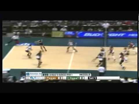Rainbow Wahine Volleyball 2013 - #11 Hawaii Vs #1 Texas Part (1 Of 10)