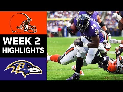 Browns vs. Ravens | NFL Week 2 Game Highlights