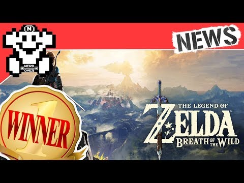 Zelda Breath of the Wild ist Game of the Year! - Nachtrag - NerdNews 203