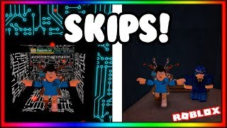 All Possible Skips in Solo Dark Sci-Facility and Beneath The Ruins! | ROBLOX FE2