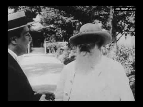 1915 Footage of Monet, Renoir and Rodin Creating Art and Degas Strolling Down a Paris Street