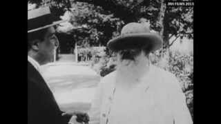 Claude Monet - Filmed Painting Outdoors (1915) thumbnail