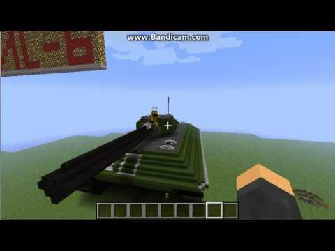 видео: кв-1 в minecraft