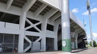 20190827 スタルヒン球場(花咲スポーツ公園硬式野球場) レフト外野席入口