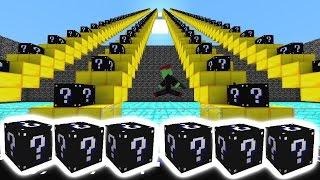 Minecraft BLACK LUCKY BLOCK STAIRCASE #3 with Vikkstar (Minecraft PopularMMOs Lucky Block Mod)