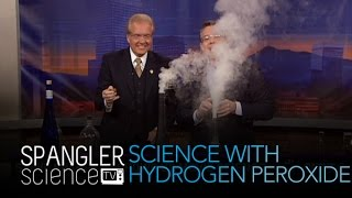 Genie in the Bottle Science with Hydrogen Peroxide - Cool Science Experiment