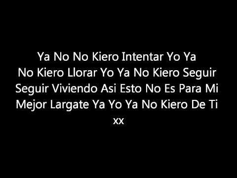 Kuky Ya No Lyrics