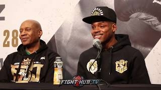 ERROL SPENCE GIVES PROPS TO PORTER